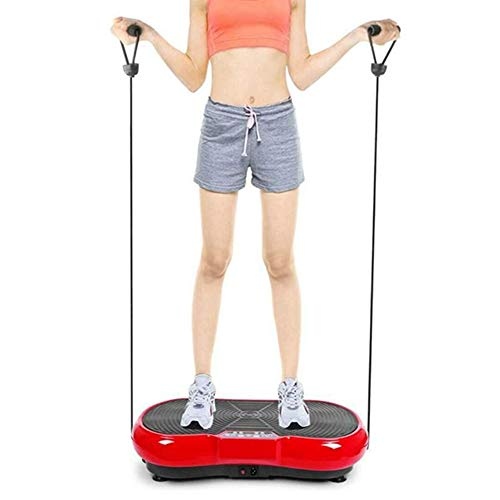 Pedana vibrante, Fitness vibrazione Macchina con 180 livelli, vibrazione Casa Energia Piatto Fitness Equilibrio allenatore pazzo Corpo Shaker Bluetooth massaggiatore Casa Formazione attrezzatura