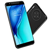 Gaeirt Mobile Phone, 3G Smartphone Artificial Intelligence Unlocked Smartphone M30PLUS 5.72in for(Black)