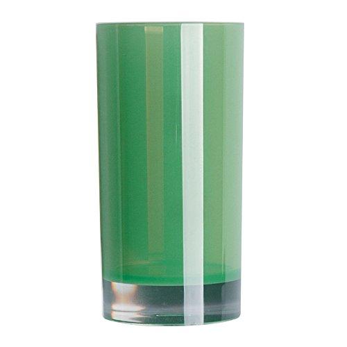 Excèlsa EX46888 Verre à Dents, Polystyrol, Vert, 6,3 x 6,3 x 13 cm
