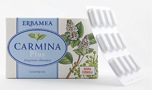 CARMINA PLUS 24 compresse Gonfiore addominale, meteorismo, flora intestinale
