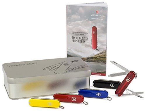 Victorinox Classic Geschenkbox mit Wunschgravur (Rot)