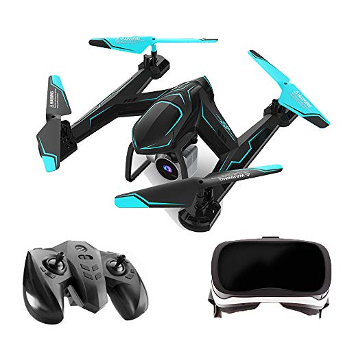 Drone with 1080P Camera Drone with VR Glasses Altitude Hold Headless Mode One Key Take Off RC Drone