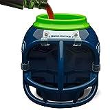 Seattle Seahawks FanMug NFL - Taza, recipiente para coleccionar, soporte para latas