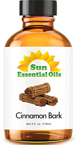 Cinnamon Bark Essential Oil (Huge 4oz Bottle) Bulk Cinnamon Bark Oil - 4 Ounce