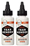 Tear Mender Instant Fabric and Leather Adhesive, 2 oz Bottle, TG-2 (Twо Pаck)