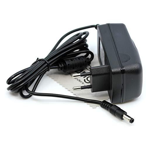 Ladegerät passend für AVM Fritz!Box 5490, 5491, 6490 Cable, 6590 Cable, 6591 Cable, 6890 LTE, 6890 LTE v2 Ladekabel Kabel Fritzbox Netzladegerät OTB mit mungoo Displayputztuch