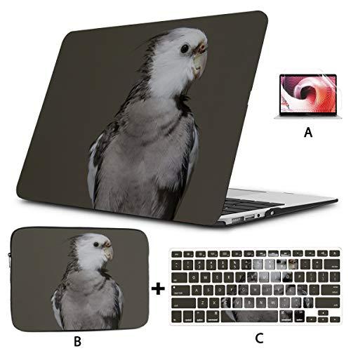 Macbook Air Case 13 Cockatiel Birds Animal Animal World Birdie Macbook Case 13 Inch Hard Shell Mac Air 11'/13' Pro 13'/15'/16' With Notebook Sleeve Bag For Macbook 2008-2020 Version