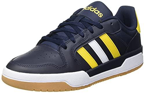 adidas ENTRAP, Zapatillas de Baloncesto Hombre, Tinley/AMABRU/FTWBLA, 43 1/3 EU
