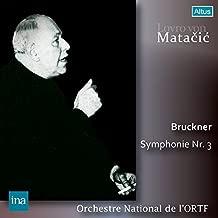 ブルックナー : 交響曲 第3番 ニ短調 Bruckner : Symphonie Nr.3 / Lovro von Matacic | Orchestre National de l'ORTF Recording 日本語帯・解説付