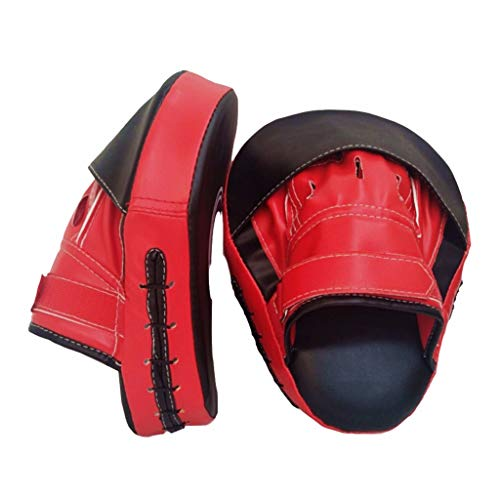 Boxing Gloves for Men & Women, FunDiscount Kickboxing Sparring Training Gloves Mitts for Boxing, Kickboxing, Muay Thai, Fight (Red)