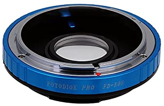 Fotodiox PRO Lens Mount Adapter - Canon FD, New FD, FL Lens to Canon EOS Camera, for Canon EOS 1D, 1DS, Mark II, III, IV, 1DC, 1DX, D30, D60, 10D, 20D, 20DA, 30D, 40D, 50D, 60D, 60DA, 5D, Mark II, Mark III, 7D, Rebel XT, XTi, XSi, T1, T1i, T2i, T3, T3i, T4, T4i