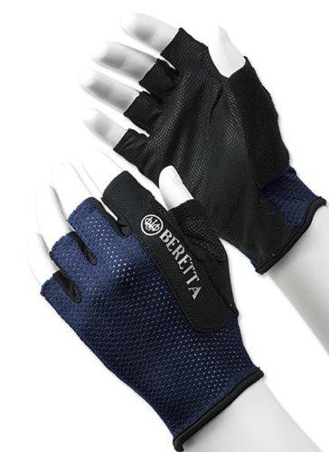 Beretta Men's Mesh Half Finger Shooting Glove