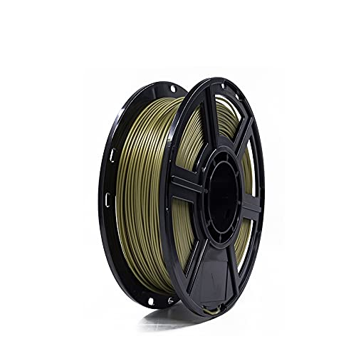 MUYUNXI 3d Printing Materials 3d Printer PLA Filament 1.75mm For 3D Printer Dimensional Accuracy +/- 0.02mm 0.5kg 1 Spool(Color:Golden)