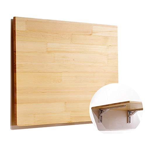 Mesa de pared Montado En La Pared De Plegado De Alas Abatibles Cocina Mesa De Comedor, De Madera Study Desk Niños para Espacios Pequeños, 16 Tamaños (Natural) (Size : 40x20cm)