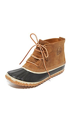 Sorel Women's Out N about Leather Snow Boot,Elk,6.5 M US