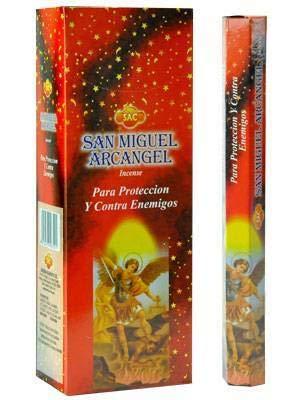 SAC Incienso San Miguel ARCANGEL Original 6 Cajas X 20 Sticks