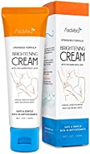 AsaVea Underarm Lightening Cream Upgraded Formula with Kojic Acid and Collagen - Effective for Lightening & Brightening Armpit, Knees, Elbows, Sensitive & Private Areas