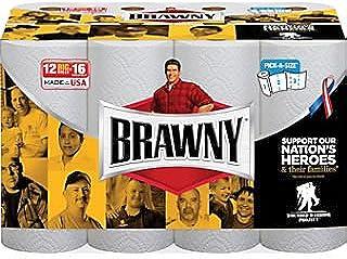 Brawny® Pick-A-Size® 2-Ply Paper Towel Rolls; 102 Sheets/Roll, 12 Rolls/Case