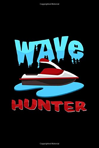 Wave hunter: 6x9 Jet ski | lined | ruled paper | notebook | notes