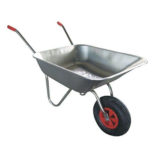 Galvanize Carrello-Carriola in metallo per bambini, gonfiabile, Pneumatico, colore: argento, 3 anni di garanzia!
