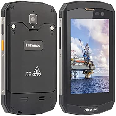 Hisense D5 4 Inch 4G LTE IP67 Waterproof and Explosion Proof Mobile Phone Can Be Used in Oil, Military, etc.