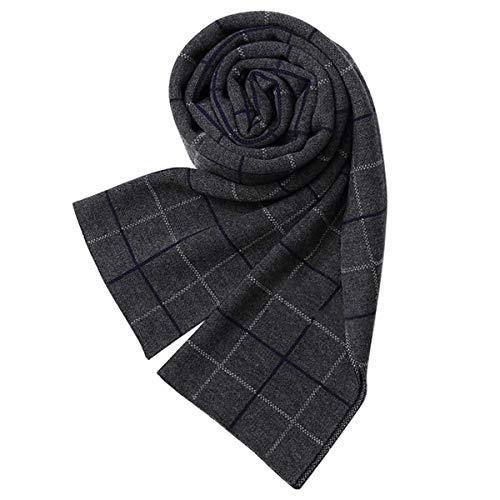 JX-Weijin Warm Herfst En Winter Sjaal Mens Zachte Geborsteld Tartan Check Sjaal Klassiek En Elegante Plaid Sjaals
