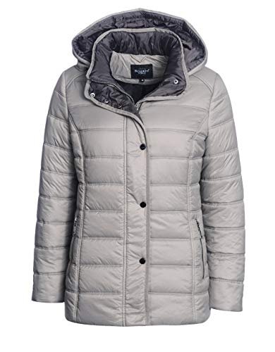 Bexleys Woman by Adler Mode Damen Steppjacke Taupe 46