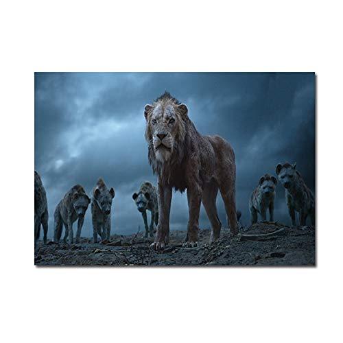 Moderne Hauptdekoration Tiere Bilder für Wohnzimmer Wandkunst Poster HD Print Leinwandbilder