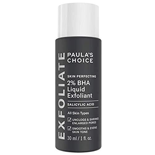 Paula's Choice Skin Perfecting 2% BHA Salicylsäure Liquid Peeling - Gesicht Exfoliator gegen Mitesser, Pickel & Unreine Haut - Poren Verkleinern - Mischhaut, Fettige & Akne Haut - 30 ml