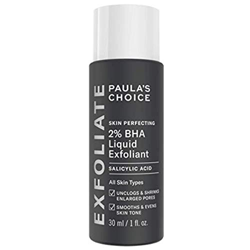 Paula\'s Choice Skin Perfecting 2{ba93c40c3748d68616836737071e93b59bd56d52a1514edce80cb8197db7e545} BHA Liquid Peeling - Gesicht Exfoliator mit Salicylsäure gegen Mitesser, Pickel & Unreine Haut - Poren Verkleinern - Mischhaut, Fettige & Akne Haut - 30 ml