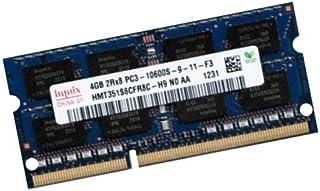 Mihatsch & Diewald/Hynix Netbook RAM 1 x 4 GB 204 pin DDR3-1333 SO-DIMM(1333 mhz, PC3-10600, CL9) para Asus Eee PC 1015B + 1015BX + 1015T + 1015PB + 1025C + 1215B + 1215T + 1225C + A1215N