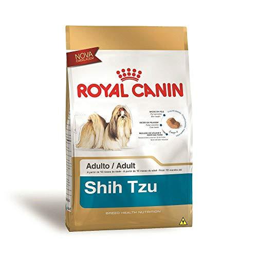 Ração Royal Canin Shih Tzu Cães Adultos 1Kg Royal Canin para Todas Todos os tamanhos de raça Adulto - Sabor...