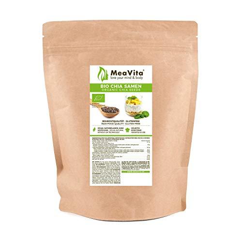 MeaVita Graines de Bio Chia 500 g