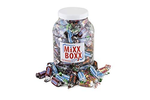 Mixxboxx Mars Minaturen - Bounty, Snickers, Twix en Mars - 1200g - ca 115 stuks
