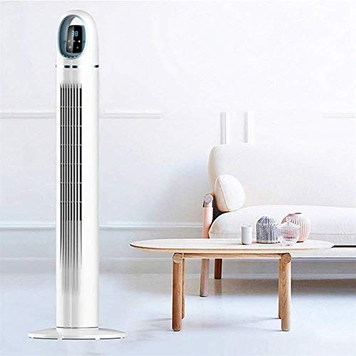 Torre Pantalla LED con Temporizador de 40 W 3 Niveles de Velocidad 3 Modos de ventilación Diferentes Control Remoto Que Ahorra Espacio