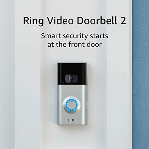 Ring Video Doorbell 2 Used Acceptable Condition with HD Video Motion Activated Alerts Easy Installation product image