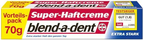 Blend-a-dent Super-Haftcreme extra stark, 2er Pack (2 x 70 g)
