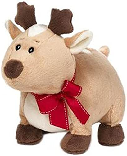 Tan Rennie the Reindeer Holiday Plush by Ganz by 9.5  RENNIE REINDEER