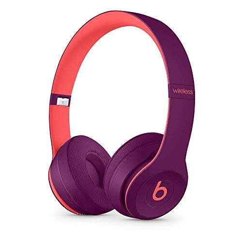 Beats Solo3 Wireless On-Ear Headphones - Beats Pop Collection - Pop Magenta (Renewed)