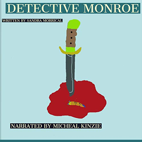 Detective Monroe audiobook cover art