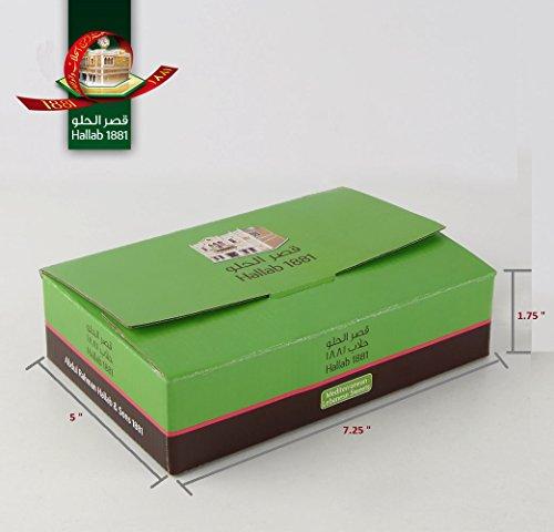 BAKLAVA SWEET CAKES GOURMET GIFT Box (10 Oz) : 12 pcs bite size, 6 different Baklava Pastry Varieties -MOST PRESTIGIOUS ORIGINAL BAKLAVA SWEETS ASSORTMENT -Gift box: Cashew & Pine, Pistachio (10 Oz)