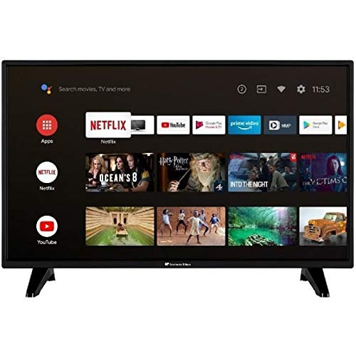 Continental Edison - TV LED - LCD de 32 pulgadas HD, CELED32SABL20B3