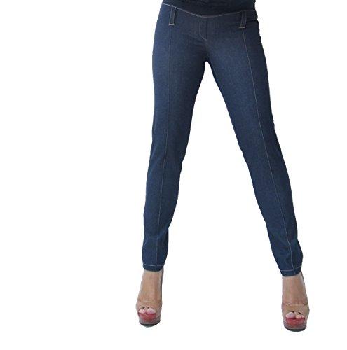 Mia maternity - Pantalon spécial grossesse - Femme S, M,L,XL - Bleu - S, M,L,XL