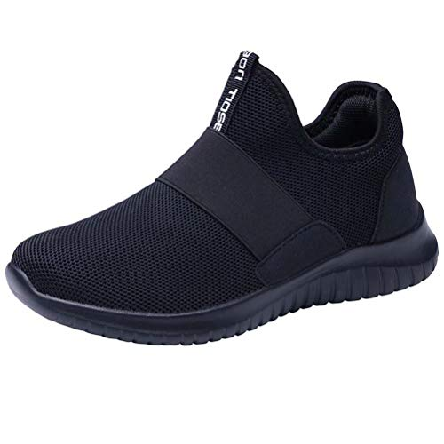 LANCROP Women's Athletic Walking Shoes - Casual Lightweight Winter Warm Running Slip On Sneakers 10...