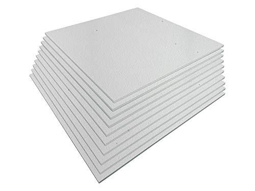 Styroporplatten - Stärke 1,5cm - Breite 56cm - Länge 56cm - 3,13m² - 10 Stück