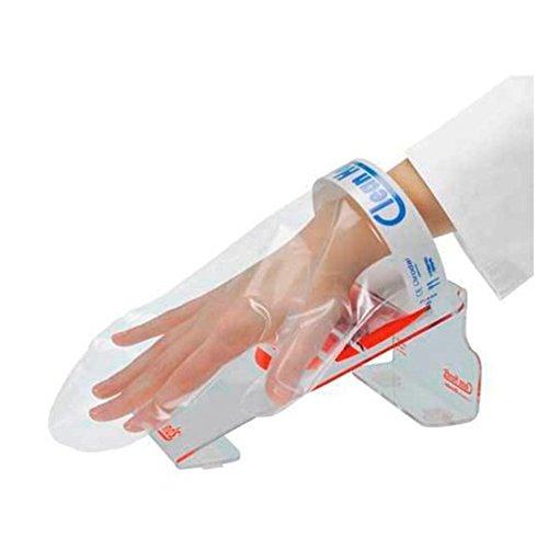 Clean Hands - Guanto.. per alimenti con base in plexiglass