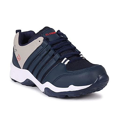Ethics Perfec Ultra Lite Sport Shoes for Men (Navy Blue, Numeric_9)