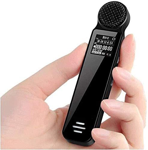 ZouYongKang Grabador de Voz Digital Recorder Activado por Voz para conferencias, reuniones, entrevistas 16 GB / 32 GB de grabadora de Audio Mini Cinta portátil Dicthone con reproducción, USB, MP3