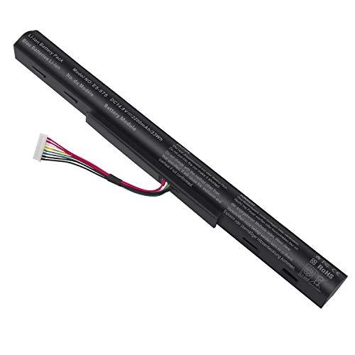 ARyee E5-575 Batería Compatible con Acer AS16A5K AS16A7K AS16A8K 4ICR19/66 Aspire E15 E5-475 E5-475G E5-523 E5-523G E5-553 E5-553G E5-575 E5-575G(2200mAh 14.8V)