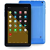 "Haehne 9 inch Tablet, 1G RAM 16GB Storage, Android 6.0, 9"" HD Display, Quad Core Processor, Dual Cameras, WiFi Only, Bluetooth, Blue"